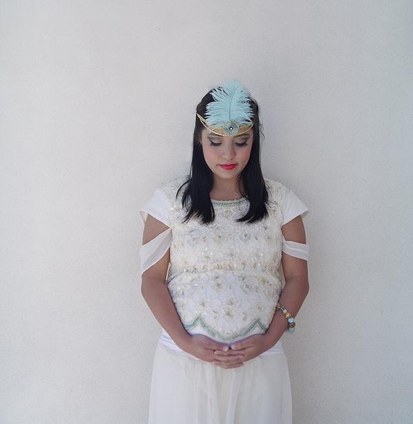 Loblee Photography Princess Jasmine Inspired Maternity