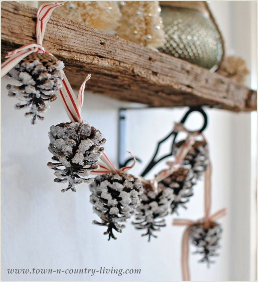 http://www.town-n-country-living.com/how-to-make-a-pine-cone-garland.html