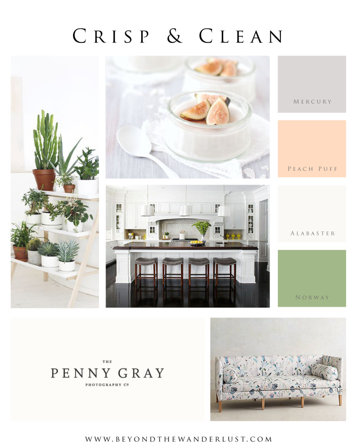 Beyond the Wanderlust Mood Board for Home