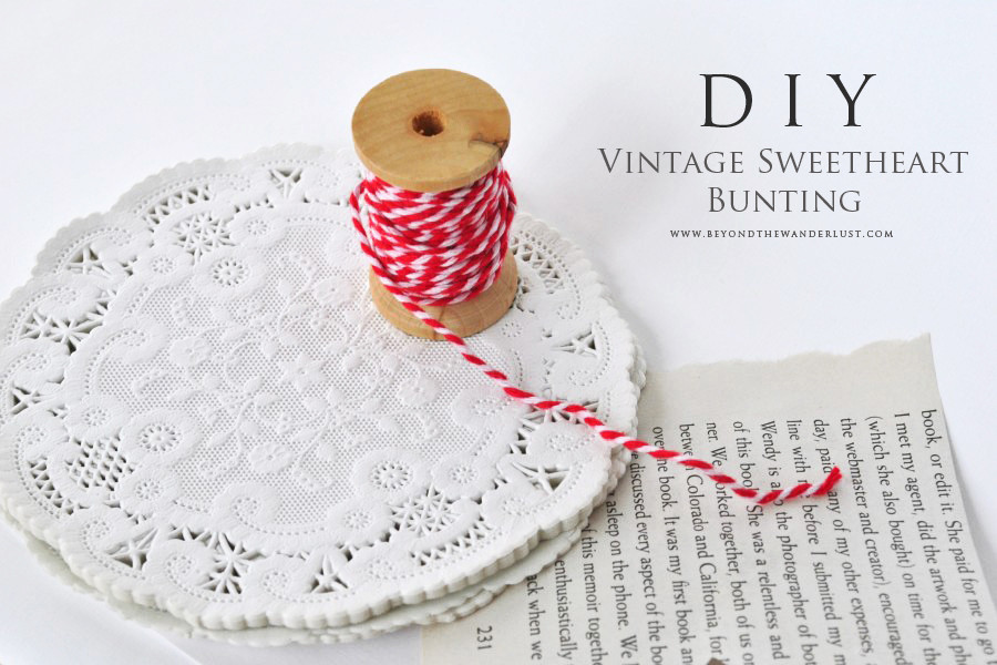 DIY-Bookpage-Doily-Sweetheart-Bunting-Elements-900x600