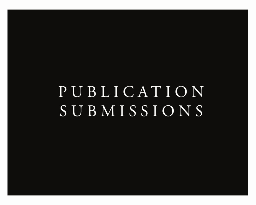 publication submissions