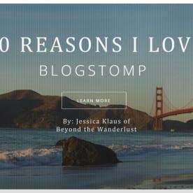 Why I love blogstomp BTW