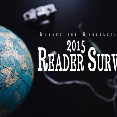 Beyond the Wanderlust Reader Survey 2