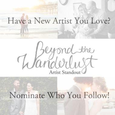 Artist Standout Nomination