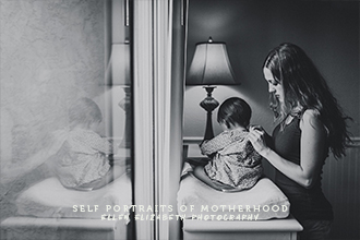 Ellen Elizabeth Self Portraits of Motherhood