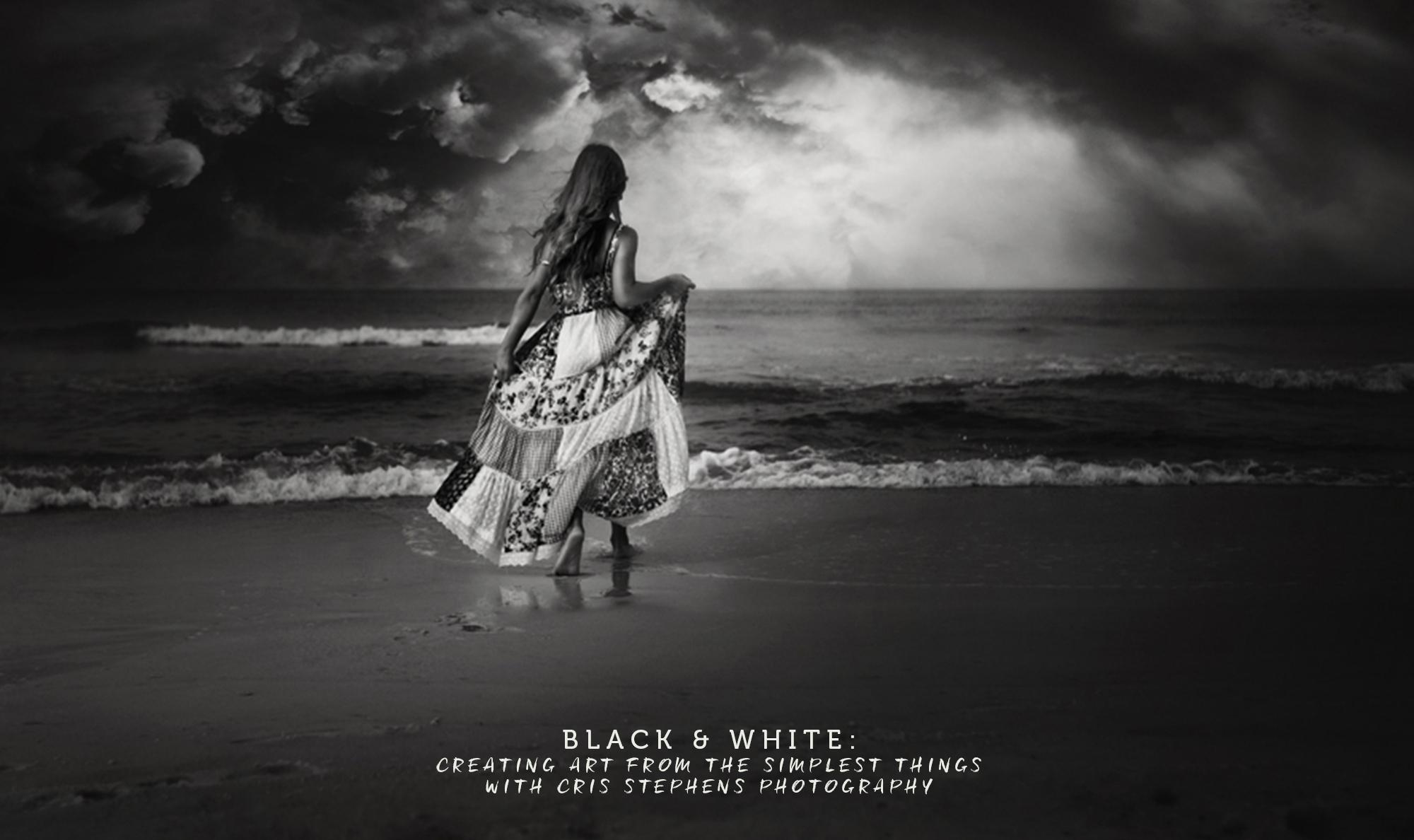Cris Stephens black and white workshop