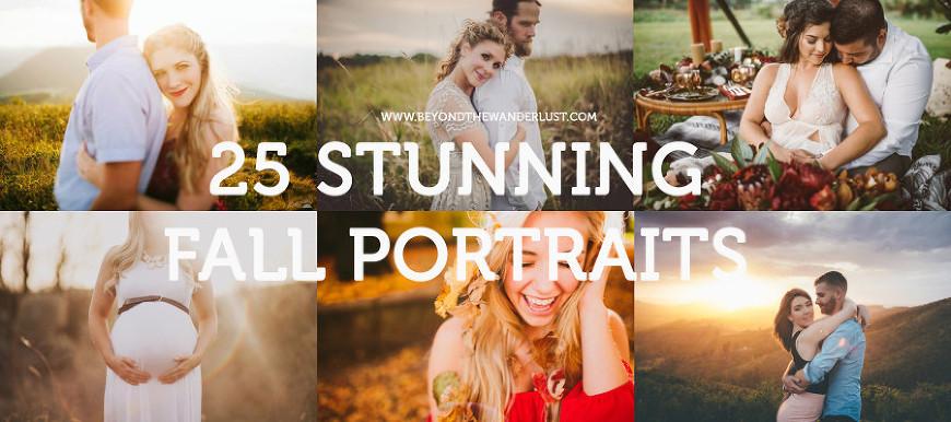 25 stunning fall portraits