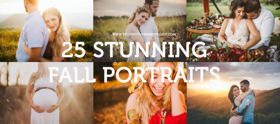25 stunning fall portraits