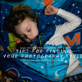 tips for finding your photography style, Karen Osdieck Photography, LLC