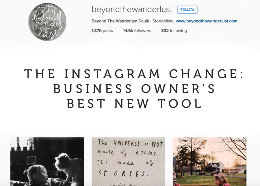 business advice, how to use instagram