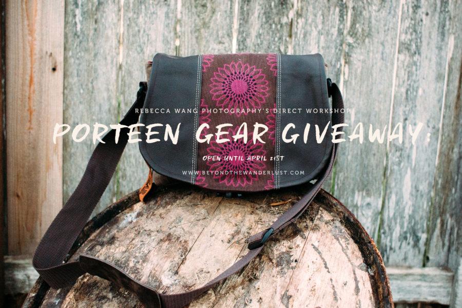 Porteen Gear Giveaway