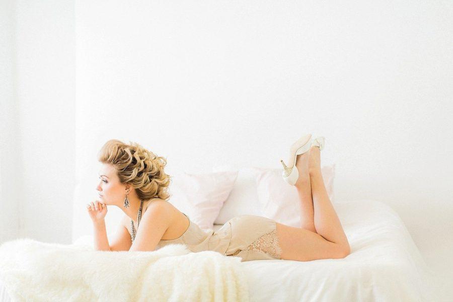 Feminine Bridal Boudoir, styled boudoir, what to what for boudoir pictures