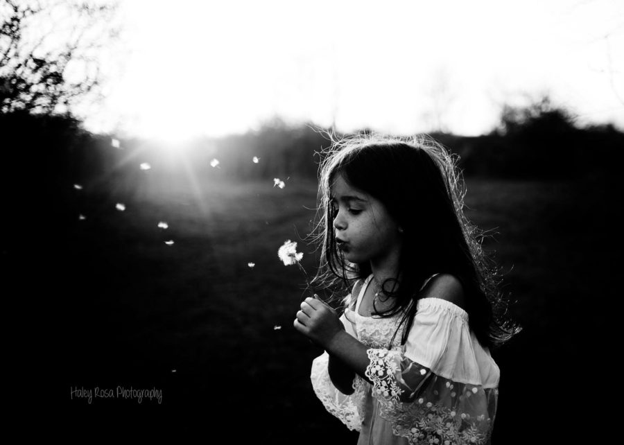 black and white little girl pictures, the daily story