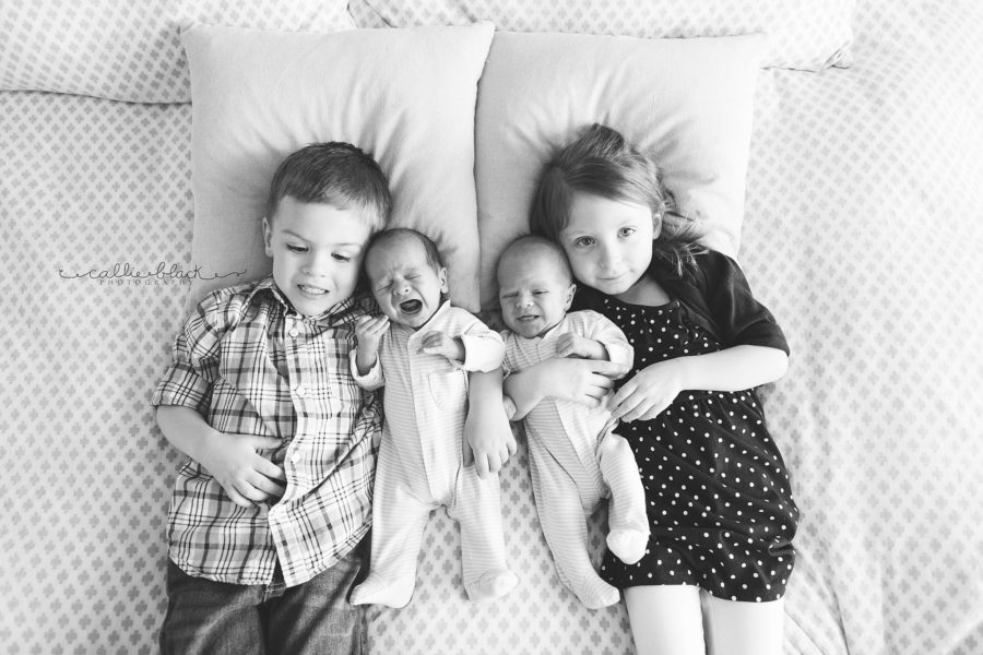 newborn sibling shots, the daily story