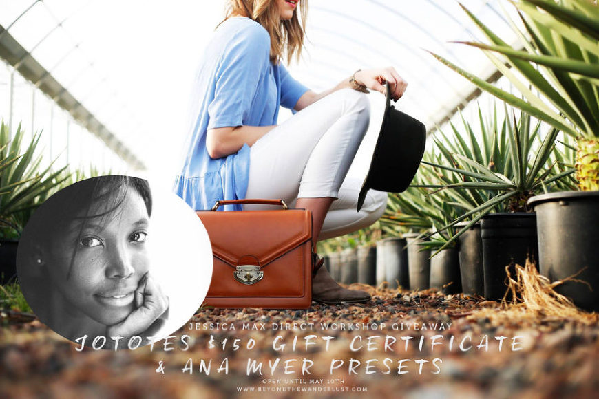 JoTotes and Ana Myer Giveaway with Jessica Max