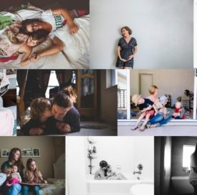 portraits of motherhood