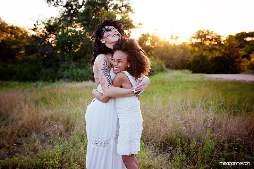 mother and daughter pictures, the daily story