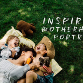 16 Inspiring Motherhood Portraits