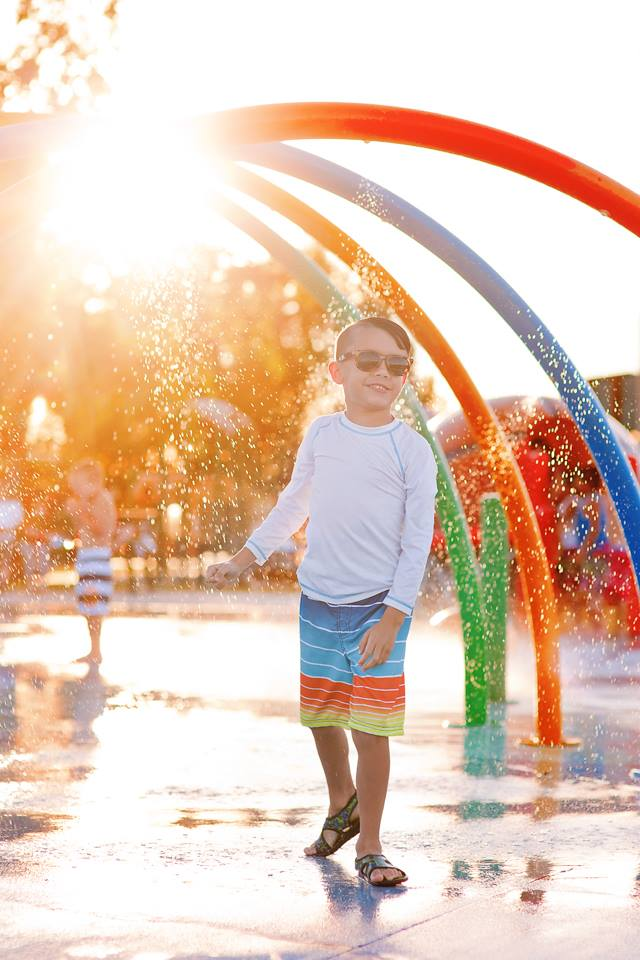 splash pads, daily fan favorite