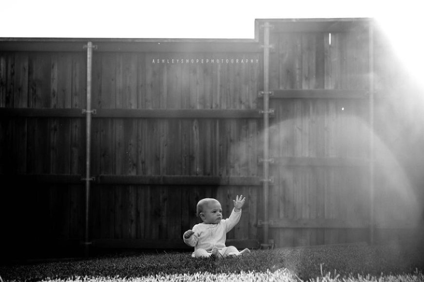 black and white baby pictures, the daily story