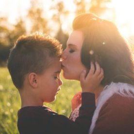 mother and son pictures, the daily story