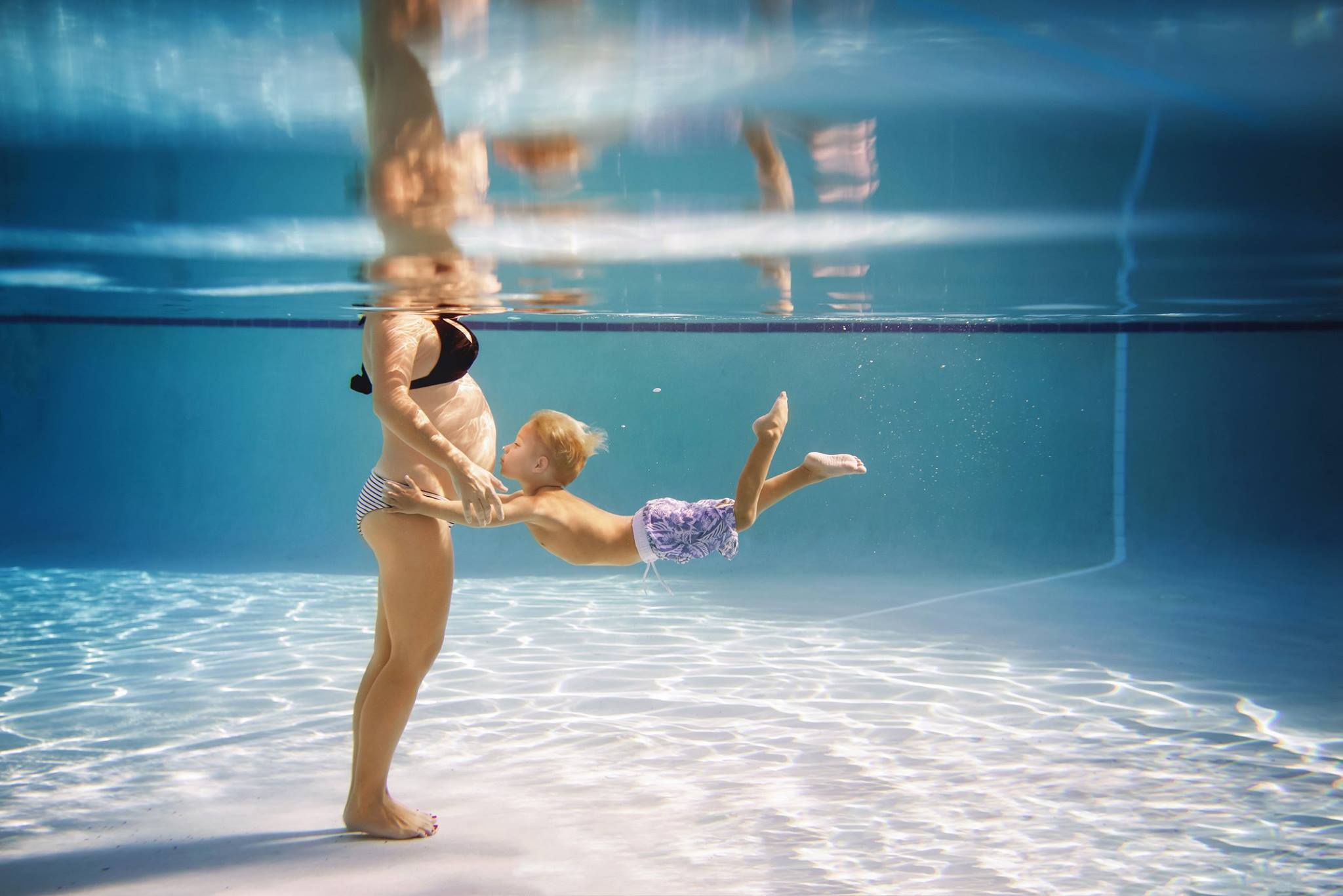 underwater pictures, maternity pictures, daily fan favorite