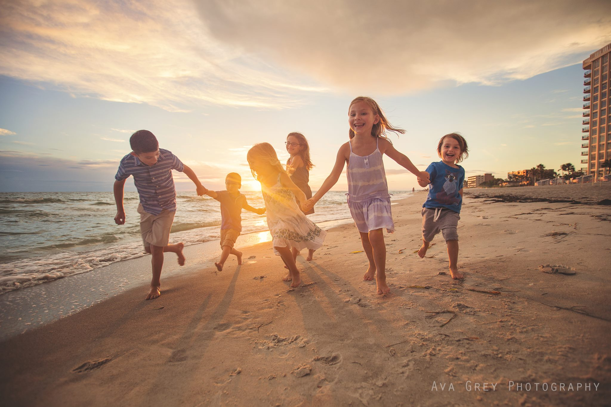 Family beach pictures, daily fan favorite