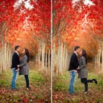 fall engagement pictures, what to wear for fall pictures