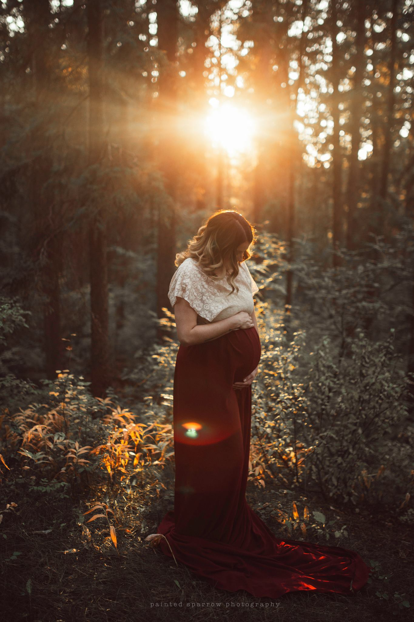 backlit maternity pictures, daily fan favorite