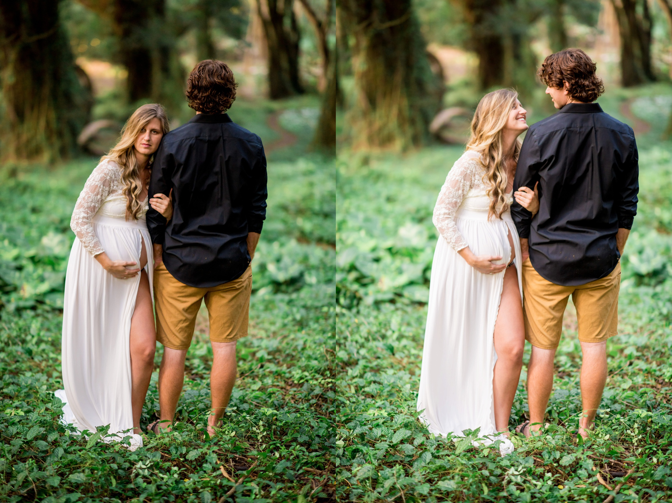 maternity picture ideas, what to wear for maternity pictures, Dreamy Hawaii Maternity Session