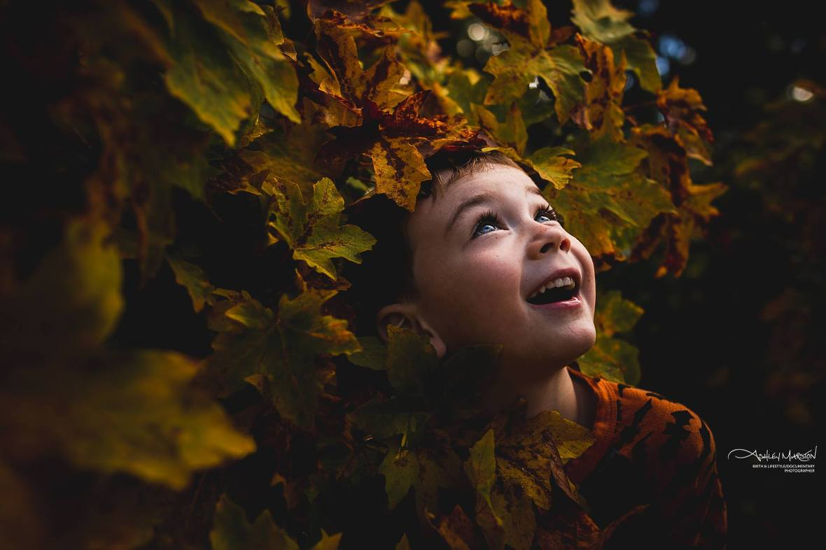 fall kid picture ideas, the daily story