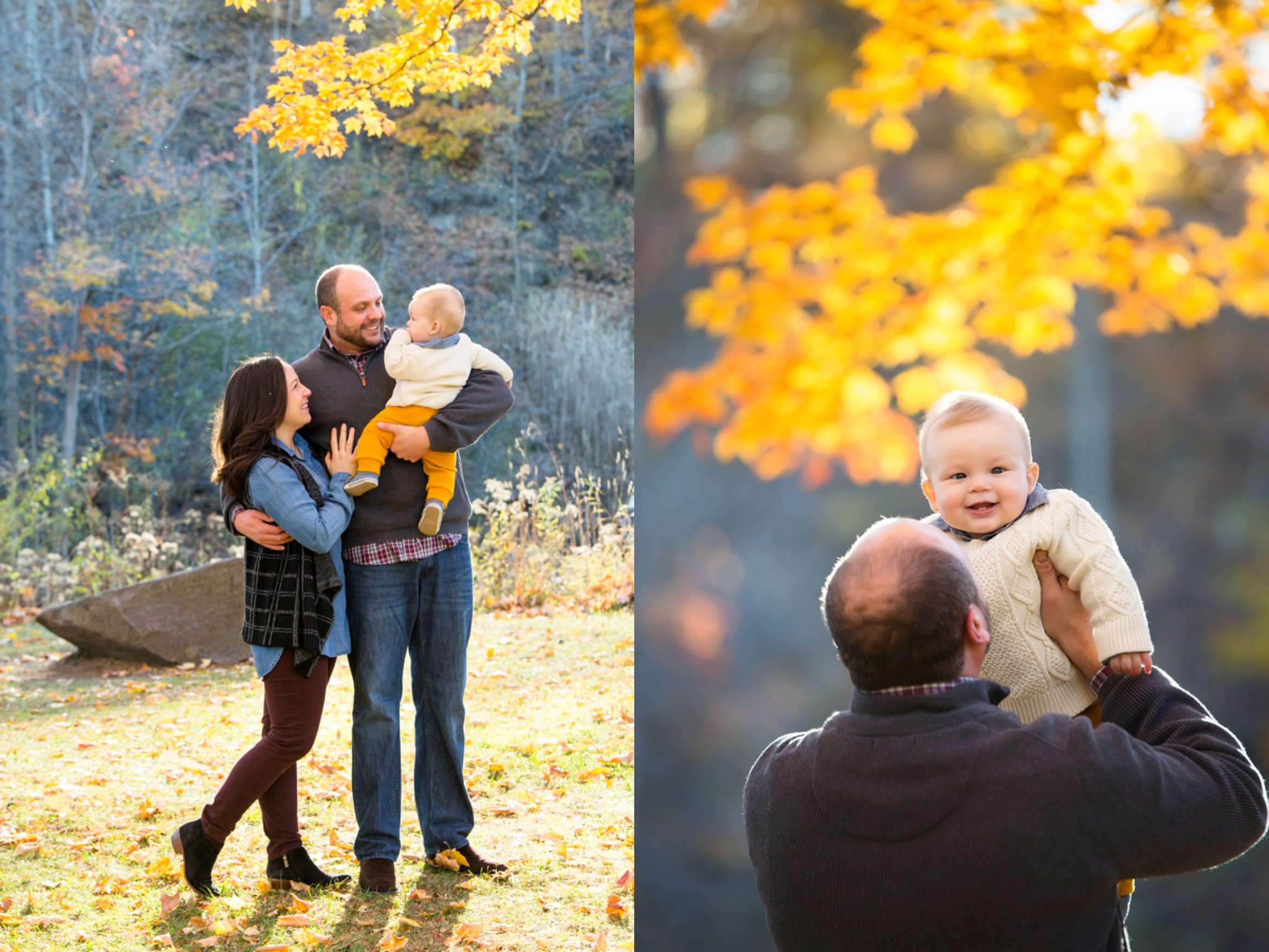 fall family pictures, what to wear for family pictures, Golden Fall Family Session