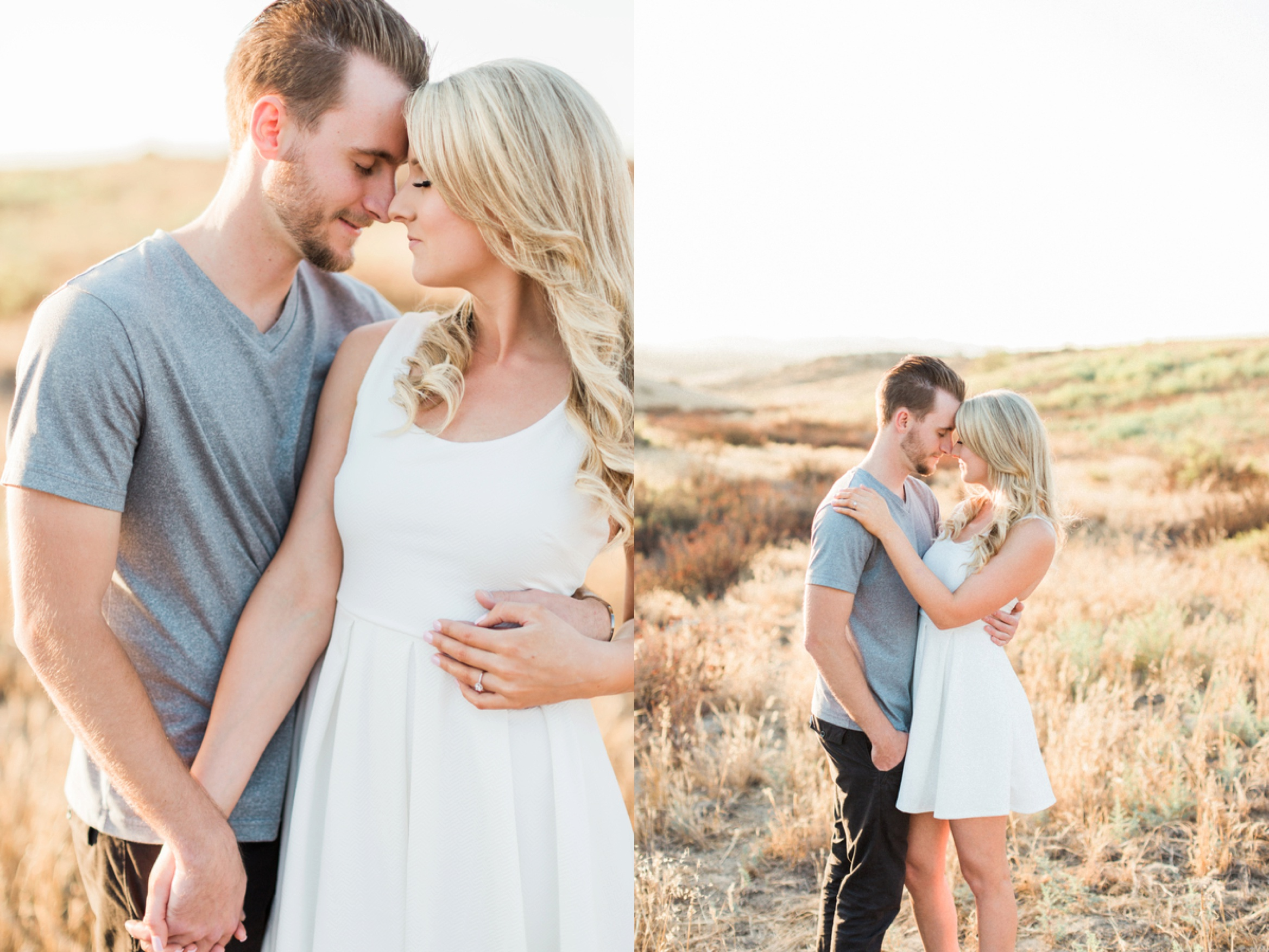 engagement pictures, couple poses, Sunfilled California Engagement Session