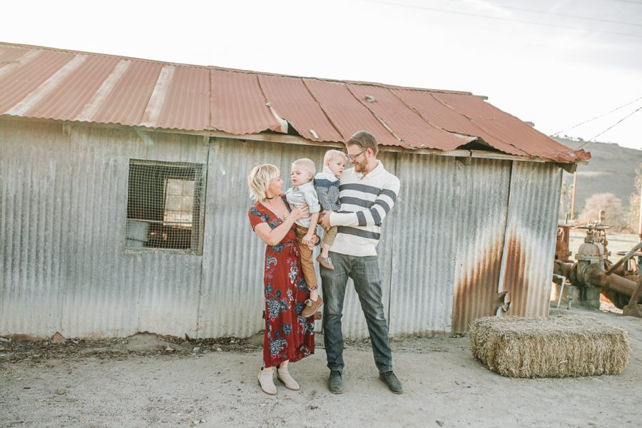 family of 4 picture ideas, what to wear for family pictures, Boho California Family of 4 Session
