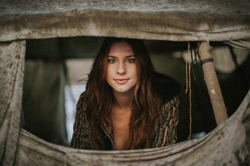 portraits photography, Bohemian Winter Portrait