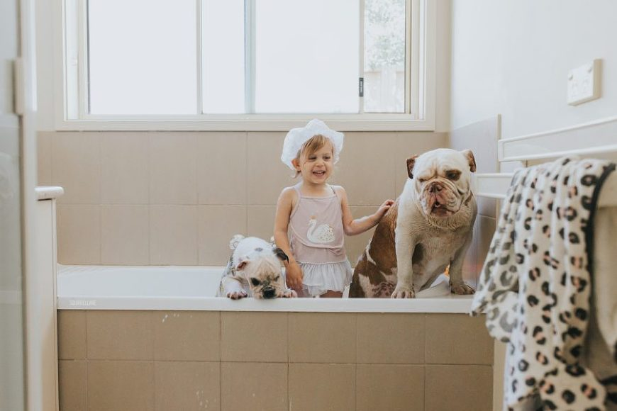 kid picture ideas, pet pictures, bath time pictures