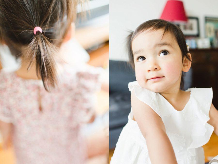 little Korean girl, Mommy & Me Cozy Home Session in Hong Kong