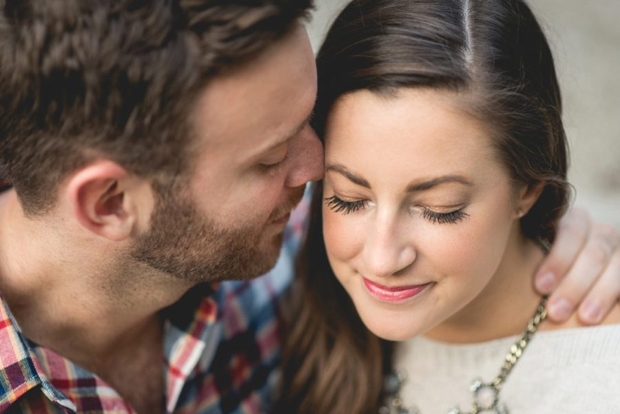 detail shots of couples, Autumn Engagement Pictures at Indianapolis Museum of Art