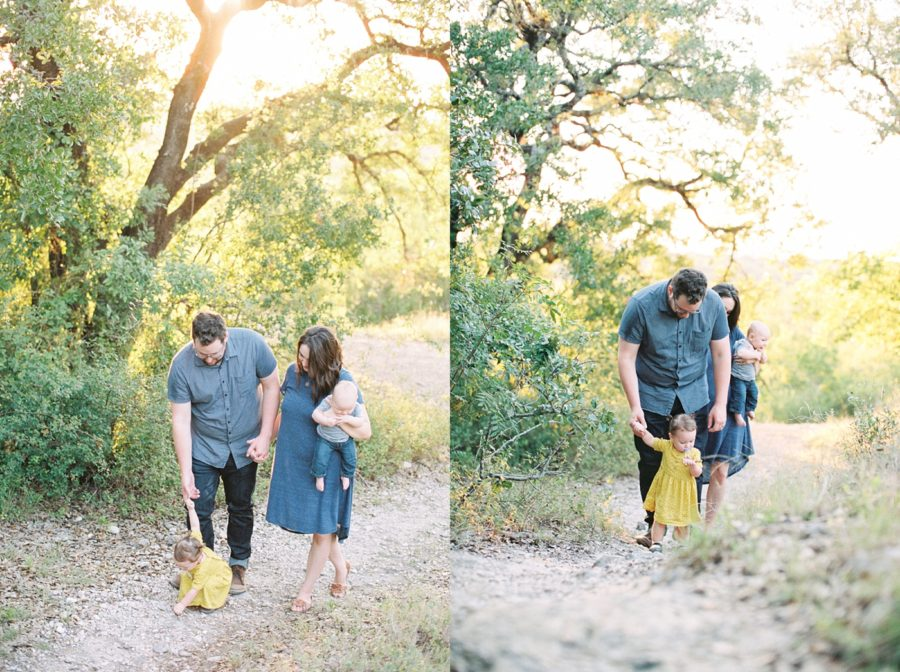 family of 4 pictures, film photography, Sweet Family Pictures in Texas Park