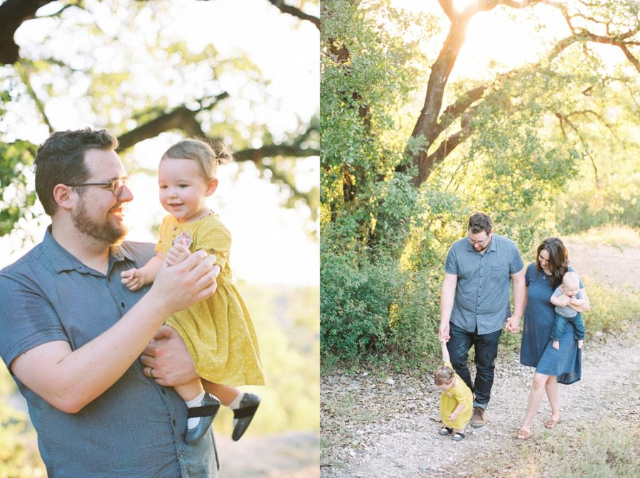 Father And Daughter Family Of 4 Poses Film Photography Sweet Pictures In
