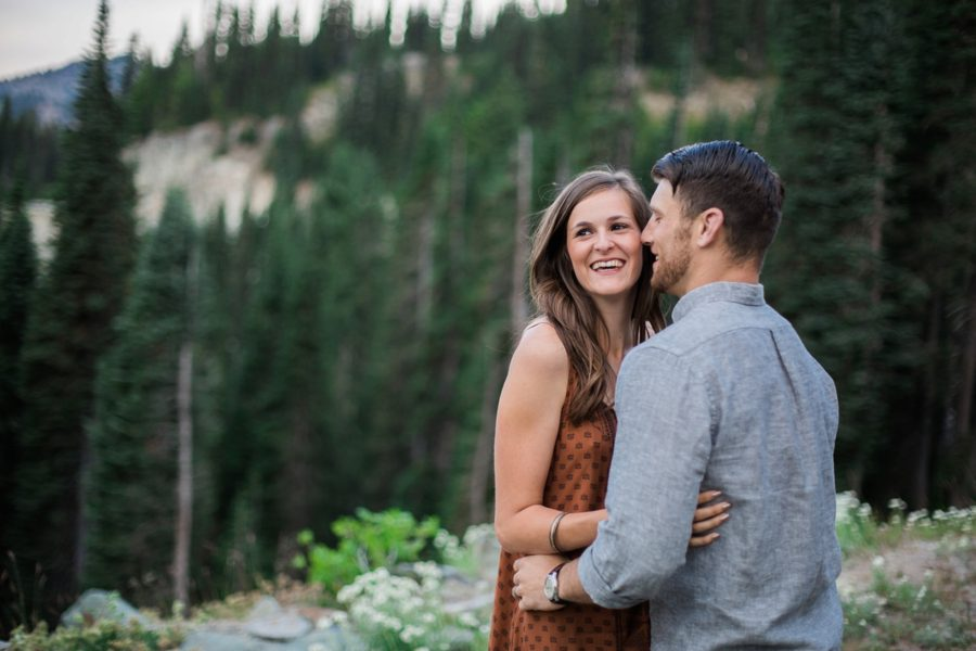 couple hiking, Adventurous Wilderness Anniversary Pictures in Washington