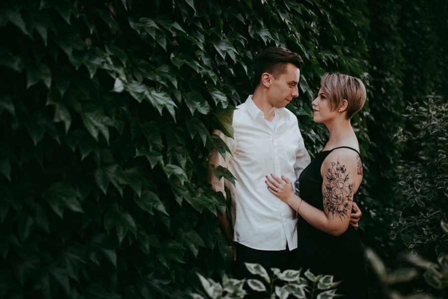 engagement pictures, couple picture ideas, Urban Couple Session in Downtown Ontario