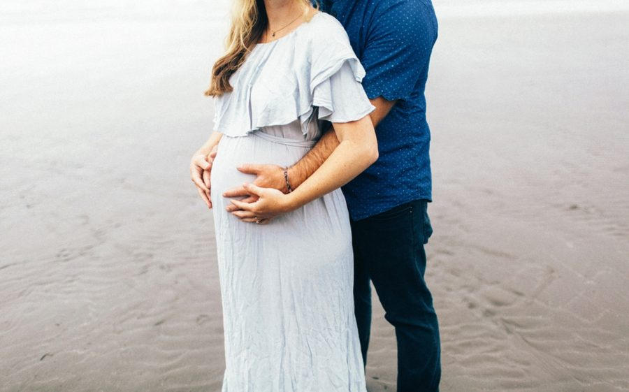 belly picture ideas, Ruby Beach Intimate Maternity Pictures in Washington