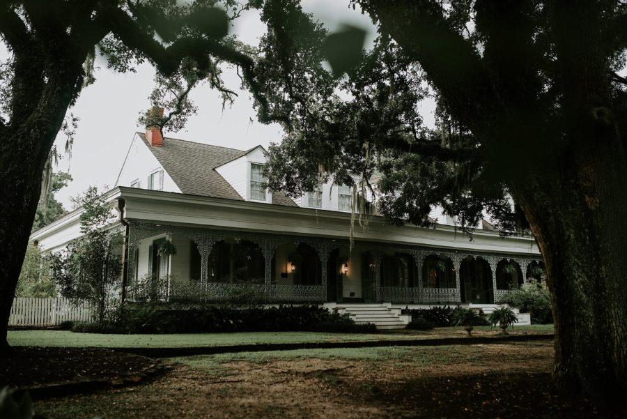 Gothic Plantation Wedding Portraits in Louisiana