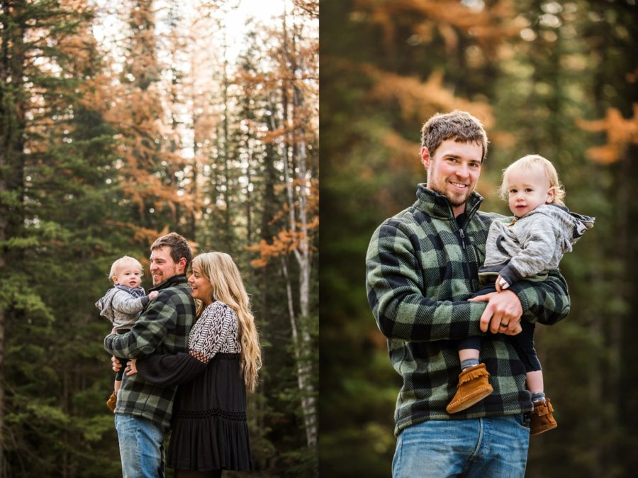 The Swan Valley Outside Of Bigfork Has A Lot Tamaracks And I Was So Excited That Timing Worked Out To Do This Family Session Down In
