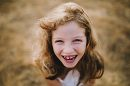 Simple child portraits, Pictures of girl in grassy field, Wild and Free Childhood Portraits