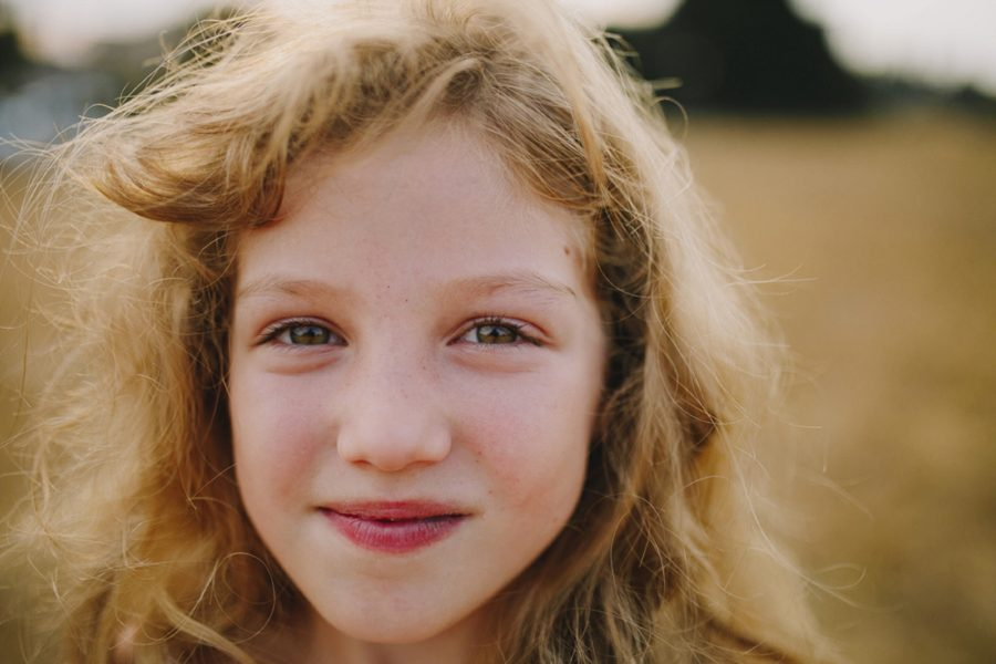 Close up portrait of child, Wild and Free Childhood Portraits
