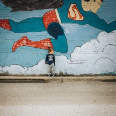 painted wall, superhero wall, Daily Fan Favorite by Dannielle Hale Photography