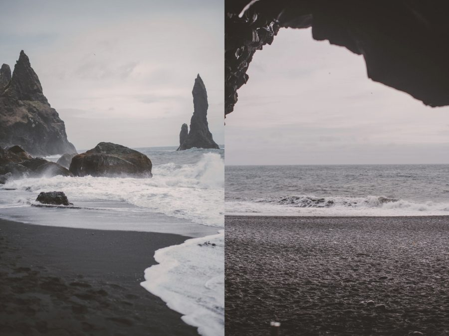 Black Beach, Iceland beach scenery,Styled Elopement Pictures in Iceland