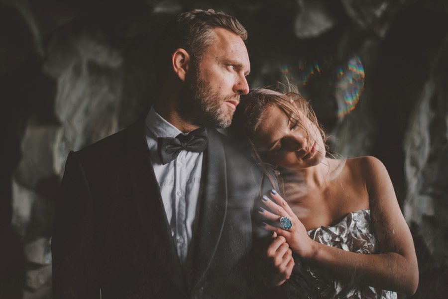 woman leaning on mans shoulder, fancy engagement picture ideas, Styled Elopement Pictures in Iceland